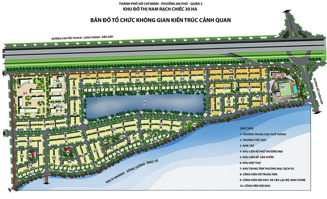 Hồ Sinh Thái 3ha - Dự án Lakeview City, quận 9, TP. HCM